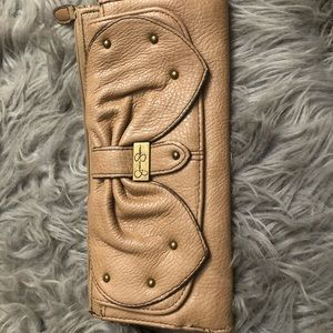 Jessica Simpson Brown Clutch